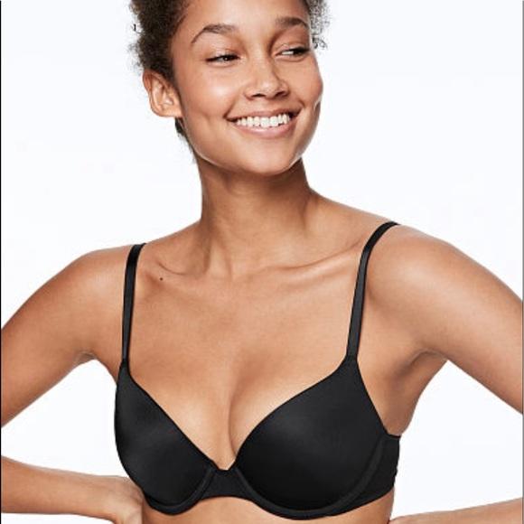 Victoria's Secret PINK Black Wear Everywhere Bra